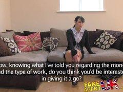 FakeAgentUK Fake sex casting sees lap dancer turn hardcore porn actress