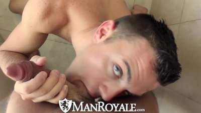 HD - ManRoyale Horny couple have hot sex