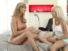 MommysGirl Teens FIRST lesbian Sex with step mom FULL SCENE