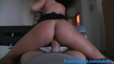 PublicAgent Real estate brunette fucked in empty apartment