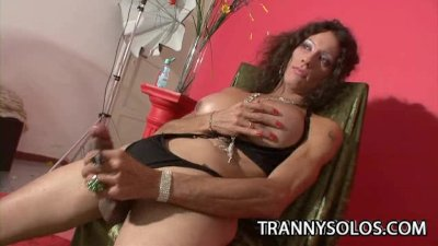 Karen: Lonely Tranny Playing With Her Dick
