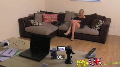 FakeAgentUK Sexy hungarian chick gets anal on the casting couch
