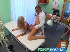 FakeHospital Dirty doctor steps in to cure sexy patients claustrophobia