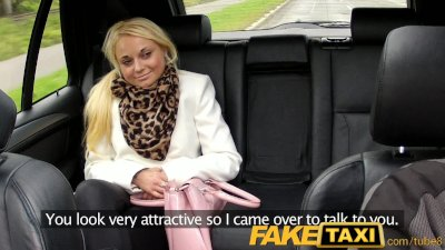 FakeTaxi Prague beauty falls for taxi charm