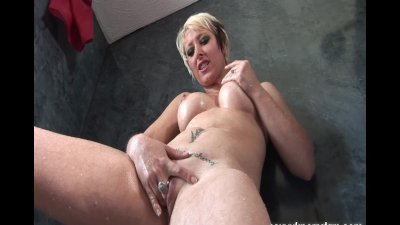 Sexy blonde MILF Tracy Venus f