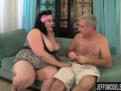 Preview 4 of Bbw Eliza Allure Gets Her Pussy Pounded By A Fat Cock
