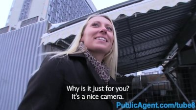 PublicAgent Sexy looking blond