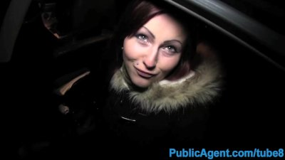 PublicAgent Straight sex in car in public place