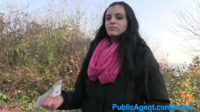 PublicAgent Veronika with big tits gets her shaven pussy fucked