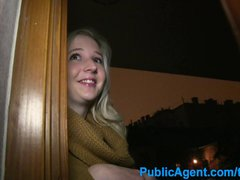 PublicAgent Young blonde comes looking for sex for cash with stranger