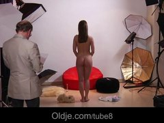 Preview 2 of Erotic Old And Young Fuck On Shooting Session