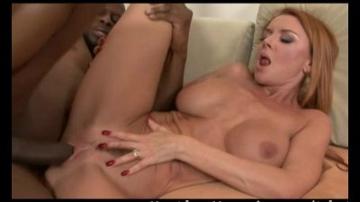 Blonde MILF gets fucked at the next door