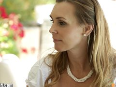 Preview 2 of Mommysgirl Lesbian Mom Helps Teens Find G-spot