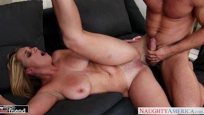 Blonde Brooke Wylde gets big tits fucked