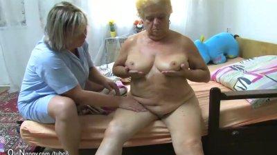 OldNanny Fat big granny have a