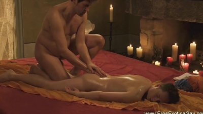 Sensual Massage Leads To Connection