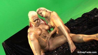 Britney Amber Lesbian Fuck