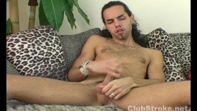 Sexy Straight Guy Dax Masturbating