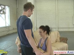 Preview 3 of Beauty Athlete Jayden Jaymes Fuck In The Gym