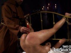BDSM exorcism of Angel Rivas