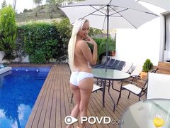 Preview 5 of Hd Povd - Naive Naomi Nevena Begs For Dick In Her Pretty Ass