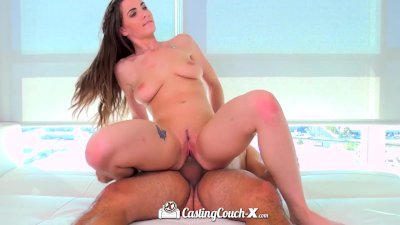 HD CastingCouch-X - Beautiful Molly Jane natural tits auditioning for sex
