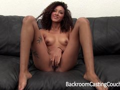Exotic Babe First Time Anal Casting