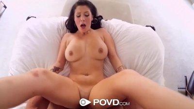 HD POVD - Noelle Easton is fingered hard in pov