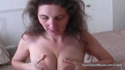 Lactating mature milks while g