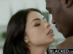 Preview 3 of Ebonyed British Wife Ava Dalush Loves Big Ebony Cock!