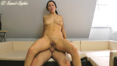 Sweet Sophie analsex with the dad from my boyfriend