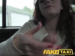 Preview 8 of Faketaxi Redhead With Big Hairy Pussy