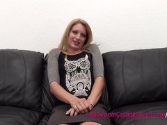 Preview 1 of Smart Blonde, Dumb Choices - Painal And Ambush Creampie