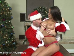 Preview 3 of Pornstars Peta Jensen And Johnny Sins Have Some Cam Fun Part1