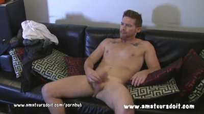 Hairy Aussie Redhead Beau Has Delicious Thick Cock