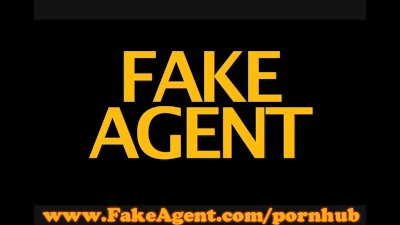 FakeAgent English amateur aces casting interview
