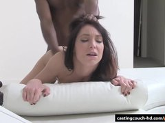 Mature reserved Brunette fucks on video   first time