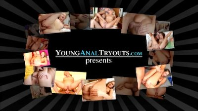 Young Anal Tryouts - Jenna and beautiful sex with a guy