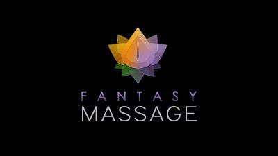 FantasyMassage Siri slides Tits and Pussy on Big Dick