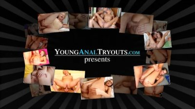 Young Anal Tryouts - Sally wants to taste her mans cum