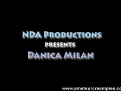 Danica Dillon getting a deep creampie before she met Josh Duggar