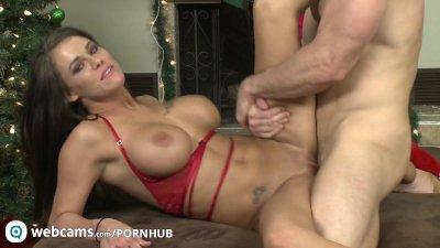 Pornstars Peta Jensen and Johnny Sins have some cam fun Part5