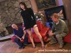 Hubby Not Liking His Wife Fucking a Stranger