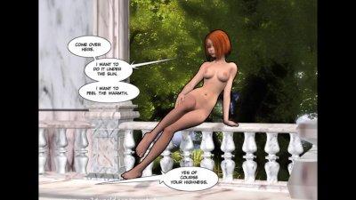 3D Comic: Amirell. Episodes 2-3