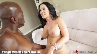 MILF Jayden Jaymes Fucks 11 Inch Black Cock