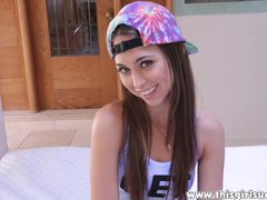 ThisGirlSucks - Riley Reid loves to suck cock and swallow cum