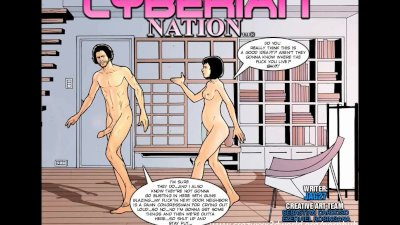 2D Comic: Cyberian Nation. Episode 5