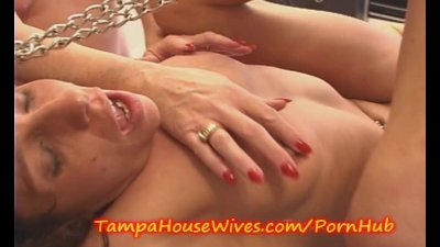 CRAZY Horny MILF gets CREAMED and SQUIRTS
