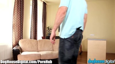 DogHouse Bi-Curious Blonde Cuckholds Boyfriend