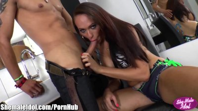 ShemaleIdol Giselle Araujo Ass Fucked by Guy